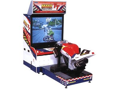borne arcade moto